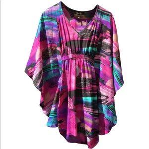 Yumi Kim stunning silk dress tunic kimono coverup